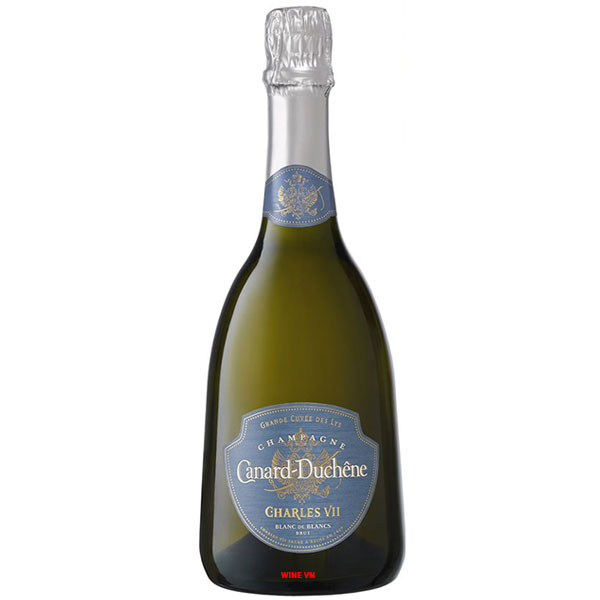 Rượu Champagne Canard Duchene Charles VII Blanc De Blanc