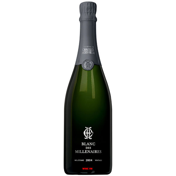 Rượu Champagne Charles Heidsieck Blanc Des Millénaires