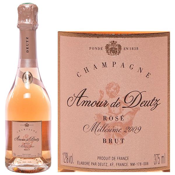 Rượu Champagne Cuvee Amour De Deutz Rose