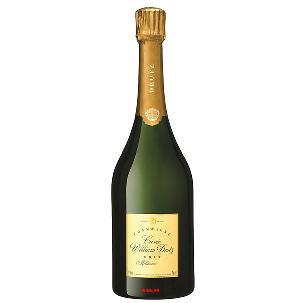 Rượu Champagne Cuvee William Deutz