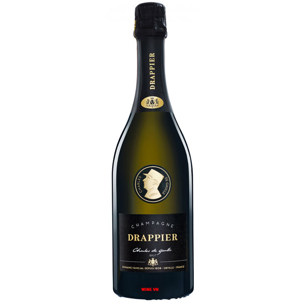 Rượu Champagne Drappier Cuvee Charles De Gaulle