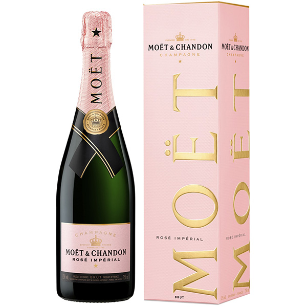 Rượu Champagne Moet & Chandon Rose