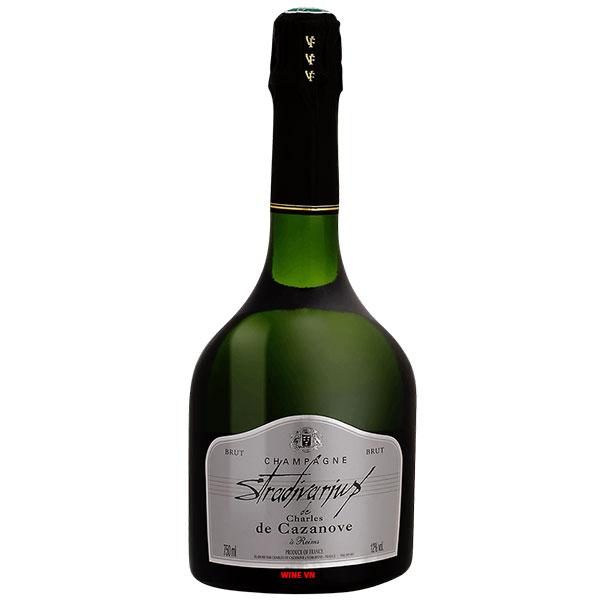 Rượu Champagne Stradivarius De Charles De Cazanove
