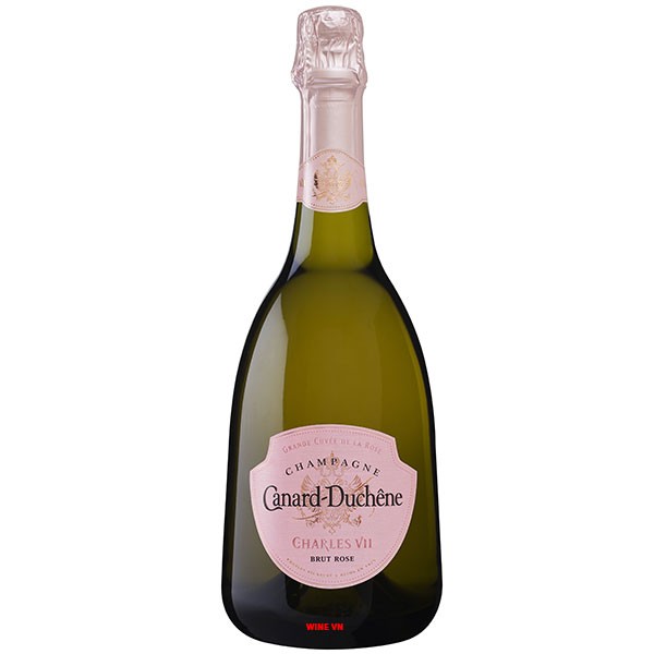 Rượu Sâm Banh Canard Duchene Charles VII Rose