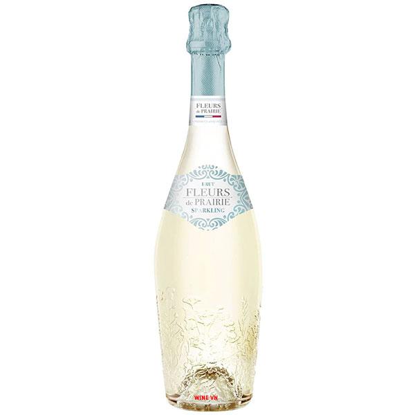 Rượu Sparkling Wine Fleurs De Prairie