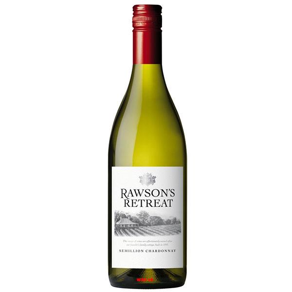 Rượu Vang ÚC Rawson's Retreat Semillon Chardonnay