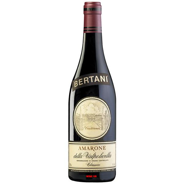 Rượu Vang Ý Bertani Amarone Classico
