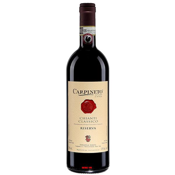 Rượu Vang Ý Carpineto Chianti Classico Riserva