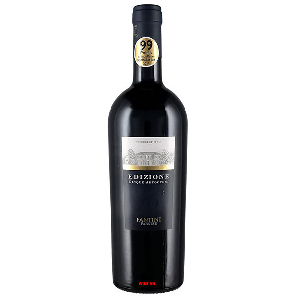 Rượu Vang Ý Edizione Cinque Autoctoni Farnese