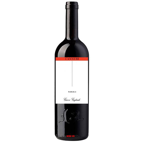 Rượu Vang Ý Gianni Gagliardo Barolo Cannubi