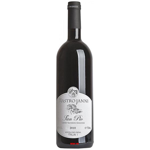 Rượu Vang Ý Mastrojanni San Pio