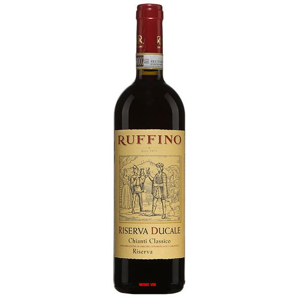 Rượu Vang Ý Ruffino Riserva Ducale