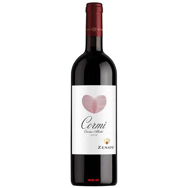 Rượu Vang Ý Zenato Cormi Corvina Merlot