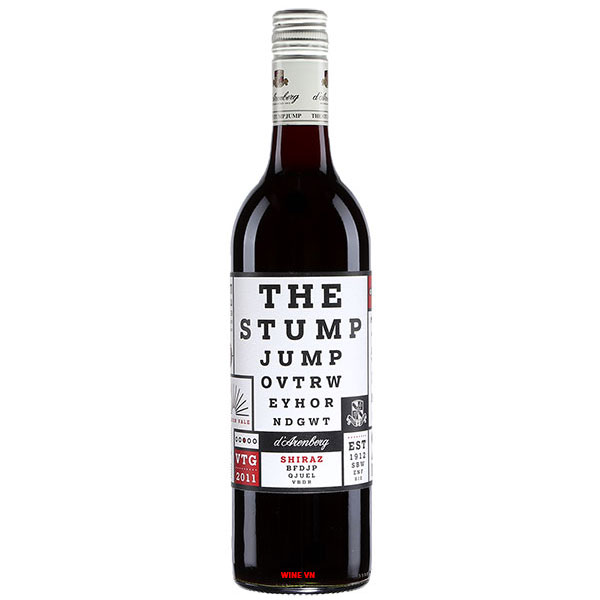 Rượu Vang Đỏ D'Arenberg The Stump Jump Shiraz