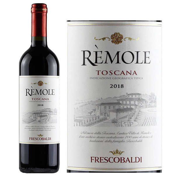 Rượu Vang Đỏ Frescobaldi Remole Toscana Rosso
