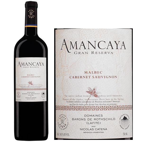 Rượu Vang Argentina Amancaya Gran Reserva