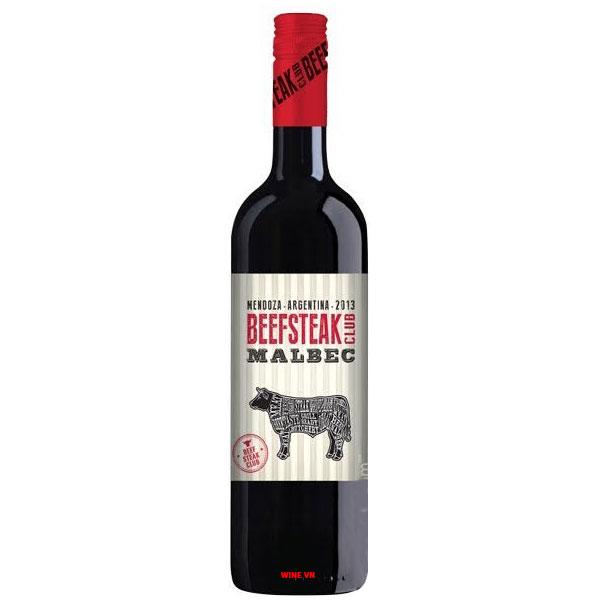 Rượu Vang Argentina Beeksteak Club Malbec