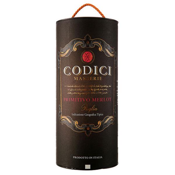 Rượu Vang Bịch Ý Codici Masserie