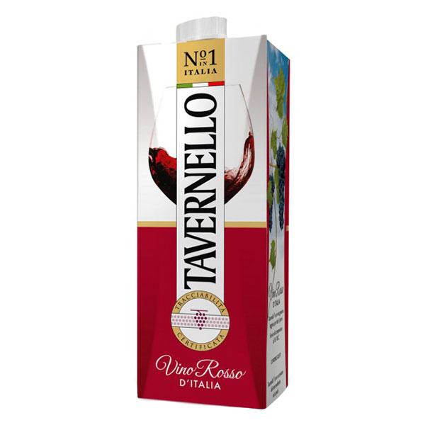 Rượu Vang Bịch Ý Tavernello Vino Rosso D' Italia
