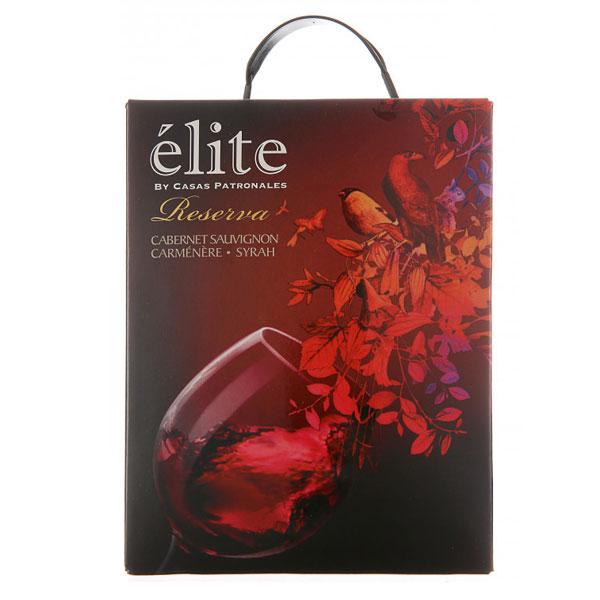 Rượu Vang Bịch Elite Casas Patronales