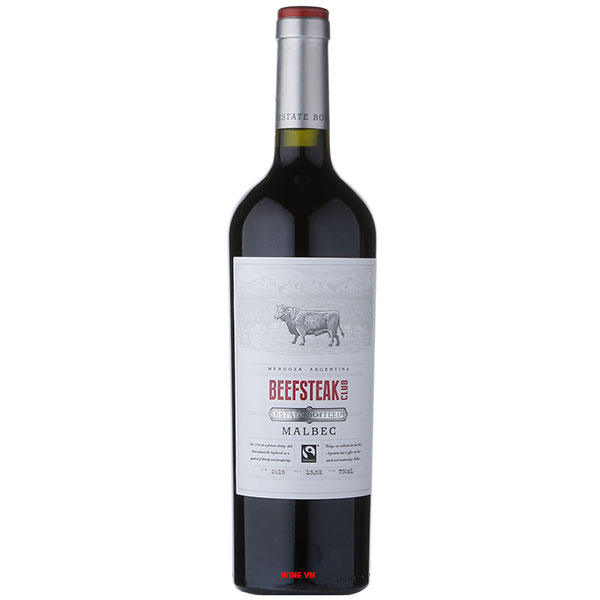 Rượu Vang Beefsteak Club Estate Bottled Malbec