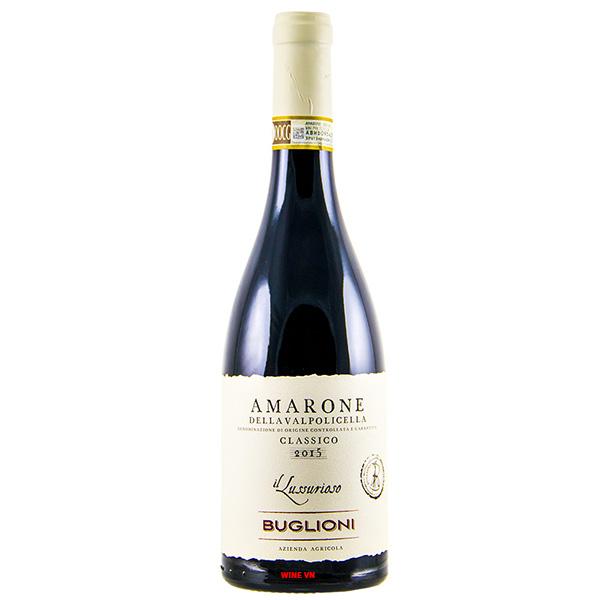 Rượu Vang Buglioni Amarone Classico IL Lussurioso