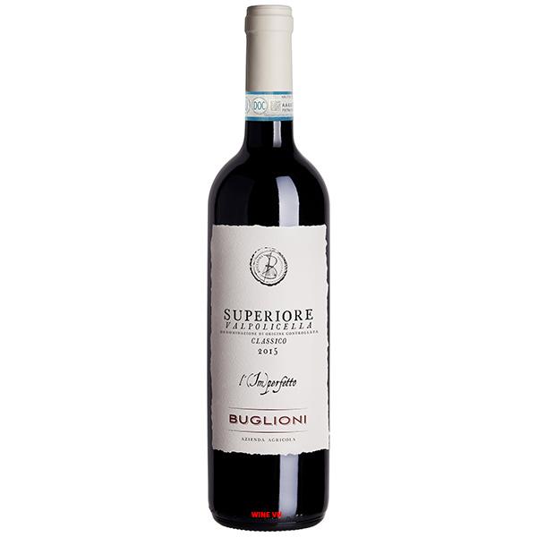 Rượu Vang Buglioni Superione Valpolicella Classico L'imperfetto