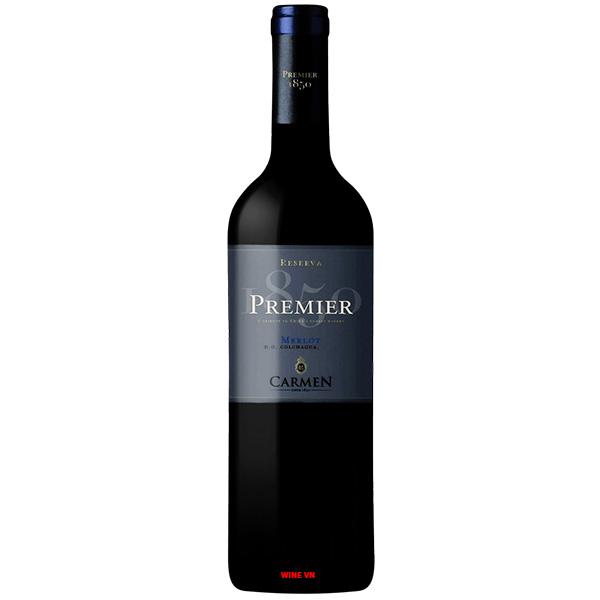 Rượu Vang Carmen Reserva Premier Merlot