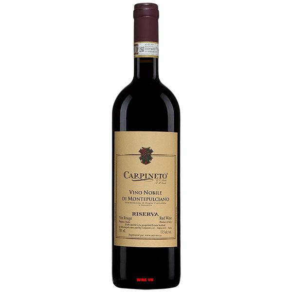 Rượu Vang Carpineto Vino Nobile Di Montepulciano Riserva
