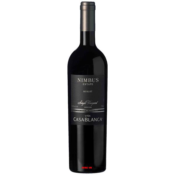 Rượu Vang Casablanca Nimbus Single Vineyard Merlot
