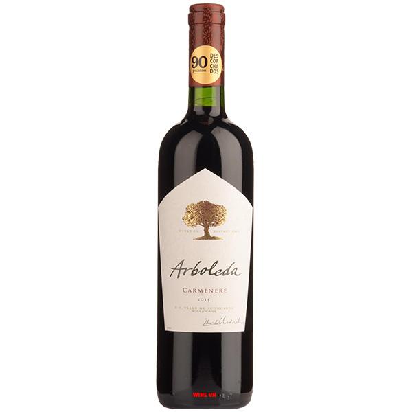 Rượu Vang Chile Arboleda Carmenere