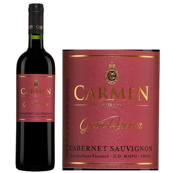 Rượu Vang Chile Carmen Gran Reserva Cabernet Sauvignon