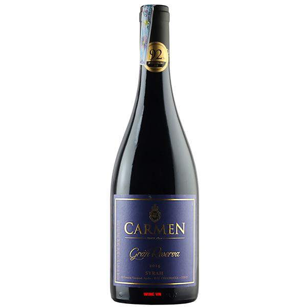 Rượu Vang Chile Carmen Gran Reserva Syrah