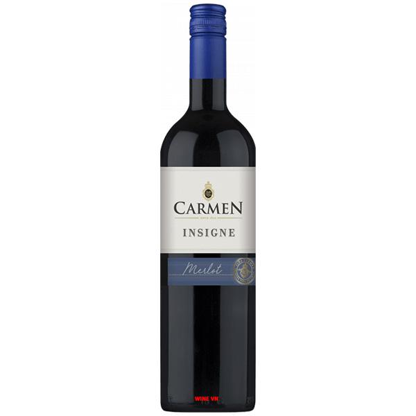 Rượu Vang Chile Carmen Insigne Merlot