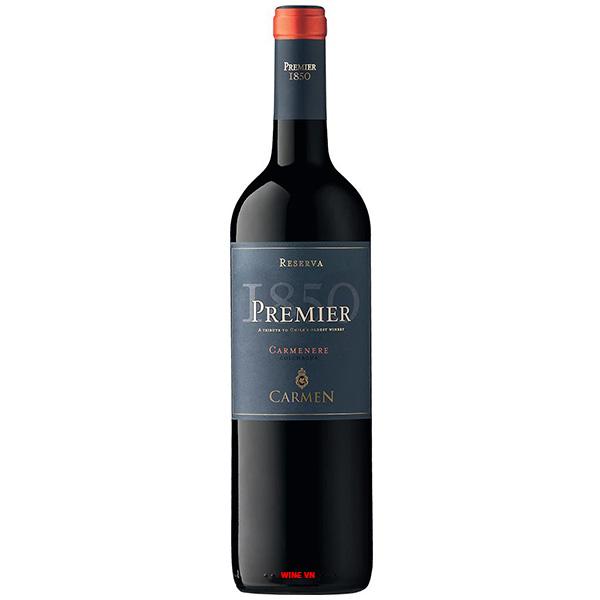 Rượu Vang Chile Carmen Reserva Premier Carmenere