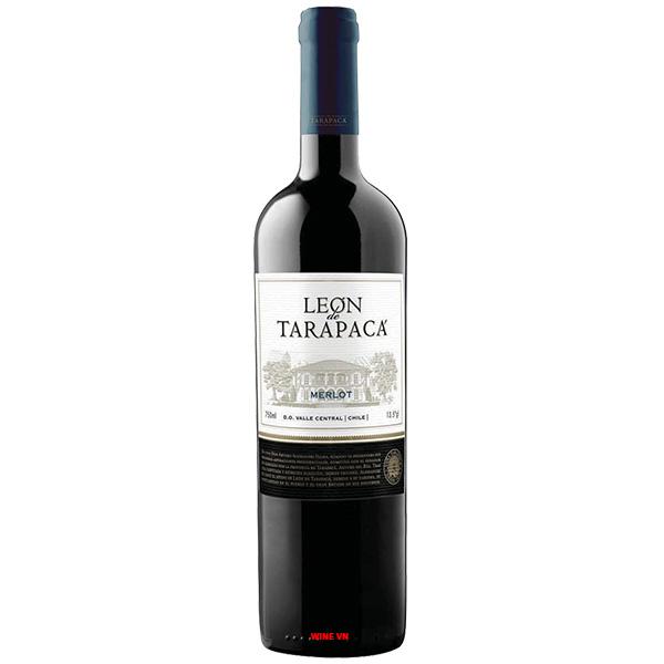Rượu Vang Chile Leon De Tarapaca Merlot
