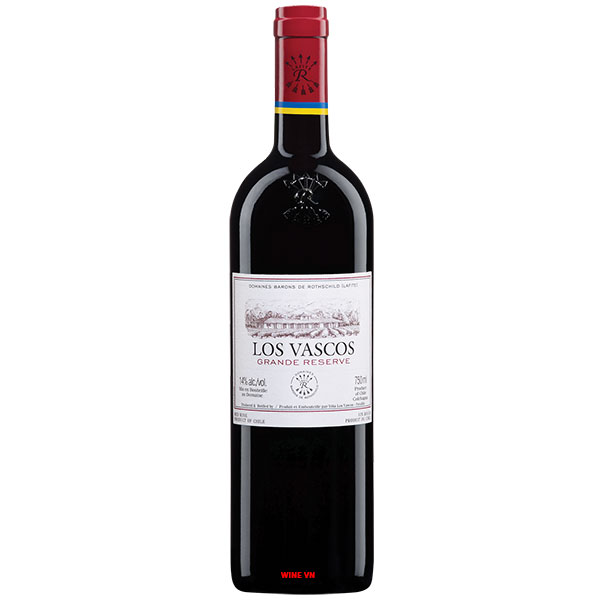 Rượu Vang Chile Los Vascos Grande Reserve