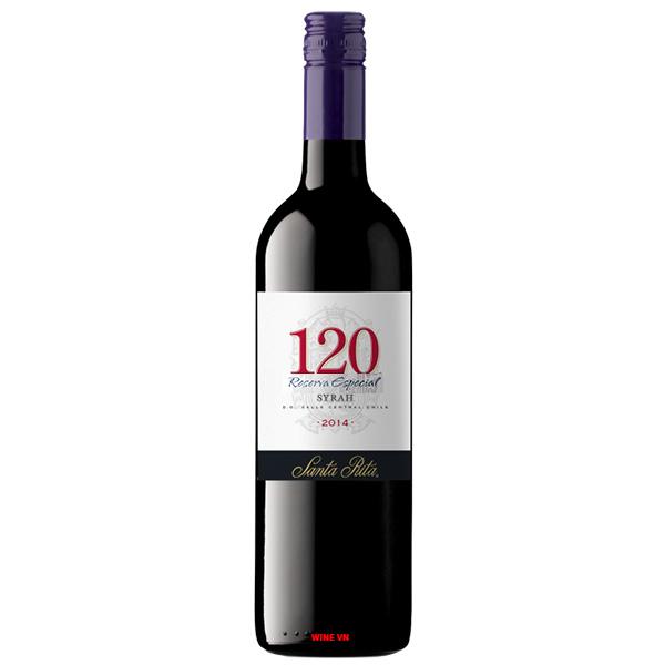 Rượu Vang Chile Santa Rita Special Reserva 120 Syrah