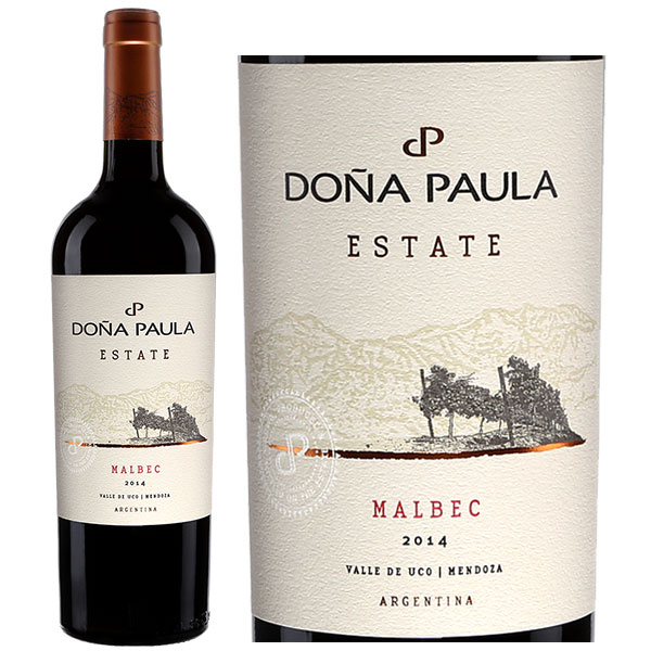Rượu Vang Dona Paula Estate Malbec