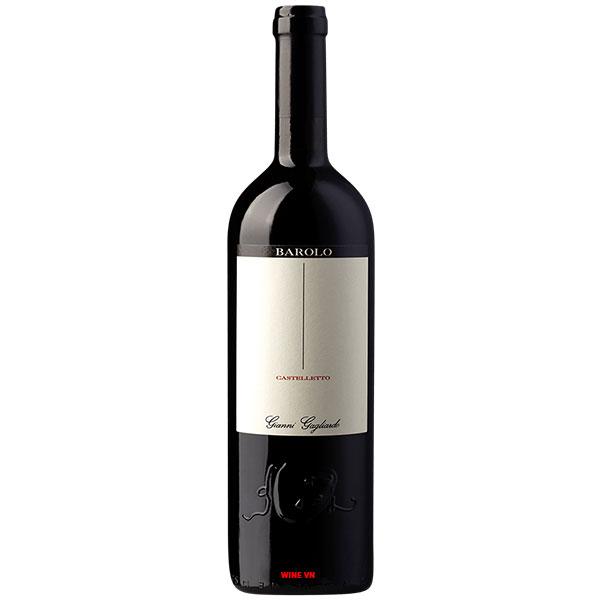 Rượu Vang Gianni Gagliardo Barolo Castelletto