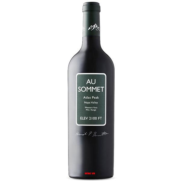 Rượu Vang Mỹ Au Sommet Napa Valley