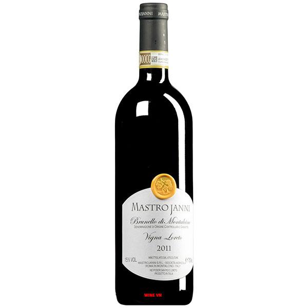 Rượu Vang Mastrojanni Brunello Di Montalcino Vigna Loreto