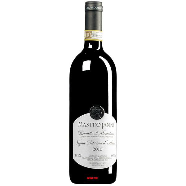Rượu Vang Mastrojanni Brunello Di Montalcino Vigna Schiena d'Asino