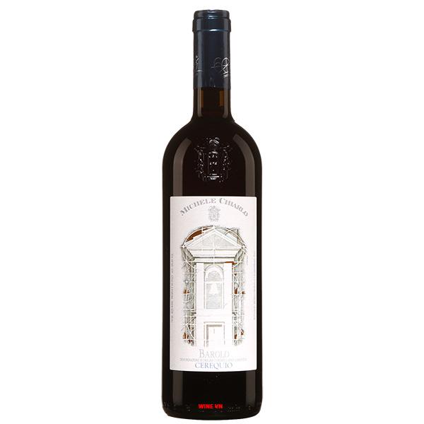 Rượu Vang Michele Chiarlo Barolo Cerequio