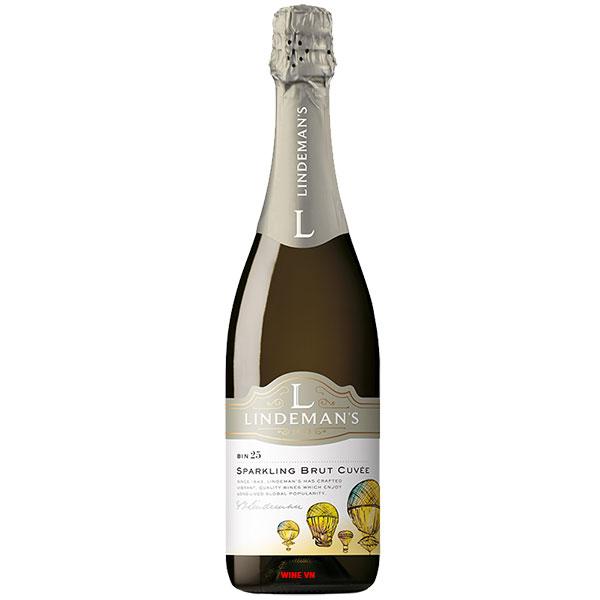 Rượu Vang Nổ Lindeman's Bin 25 Sparkling Brut Cuvee