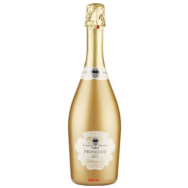 Rượu Vang Nổ Prosecco Conte Priuli Oro Brut