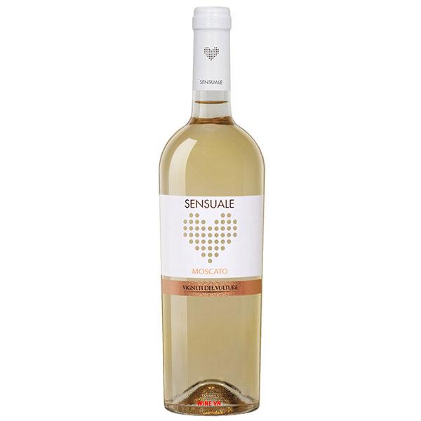 Rượu Vang Ngọt Sensuale Moscato