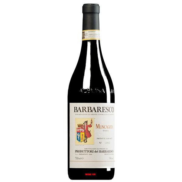 Rượu Vang Produttori Del Barbaresco Muncagota