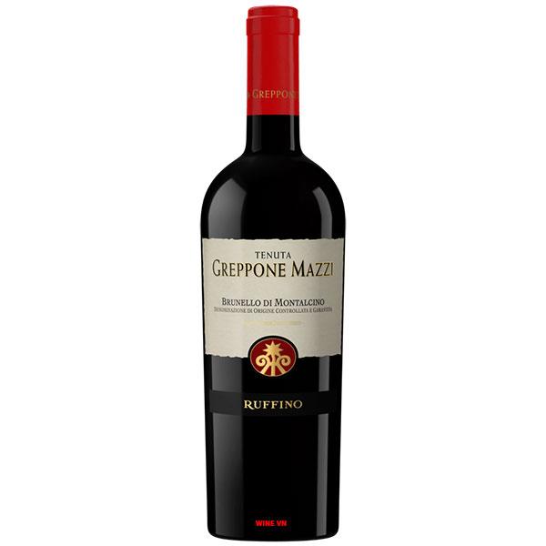 Rượu Vang Ruffino Tenuta Greppone Mazzi