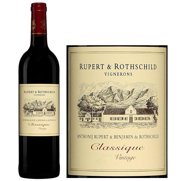 Rượu Vang Rupert & Rothschild Vignerons Classique